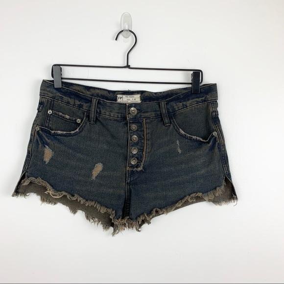 Free People Pants - Free People | Runaway Cutoff Denim Shorts 26